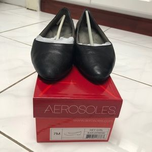 Aerosoles hey girl flats size 7
